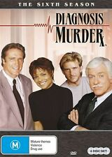 Diagnosis Murder: Season 6 NEW R4 DVD