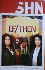 Idina Menzel If/Then tour Playbill Anthony Rapp LaChanze James Snyder SF CA 2015