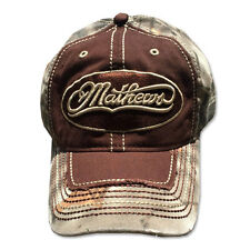 Mathews Archery Lost Camo Cap w/Distressed Bill