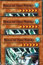 Mobius the Frost Monarch GLD2-EN007 X 3 MINT LIMITED YUGIOH YU-GI-0H