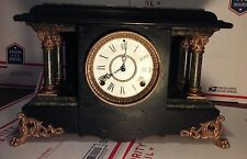 Antique Seth Thomas Mantle clock, 4 pillar.