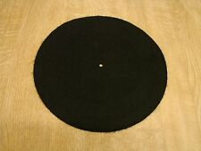 "12"" Velvet Turntable Platter Mat for EMT - Thorens - Linn - Goldring - Technics"