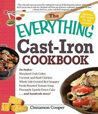 The Everything Cast-Iron Cookbook by Cinnamon Cooper (2010, Paperback)