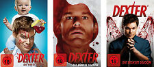12 DVDs * DEXTER - STAFFEL / SEASON 4 - 6 IM SET # NEU OVP =