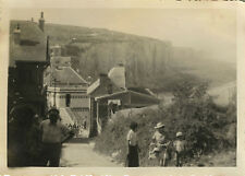 PHOTO ANCIENNE - VINTAGE SNAPSHOT - AULT SOMME 80 FALAISES 1937