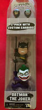 NECA: SCALERS: BATMAN & THE JOKER 2 INCH FIGURES 2-PACK WITH CUSTOM EARBUDS
