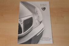 77125) Lancia Lybra + SW - technische Daten & Ausstattungen - Prospekt 09/1999