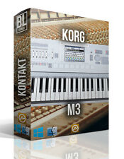 KORG M3 KONTAKT LOGIC PRO X WAV 39 GB REASON NI LIBRARY SAMPLES