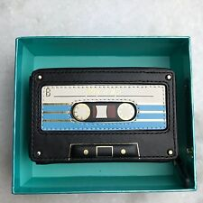 NEW kate Spade Jazz Things Up Mix Tape Coin Purse Wallet Clutch Case $98
