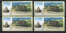 ISRAEL 2012 Fische Fishes Poissons Pesci ATM (4) ** MNH