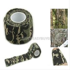 1pcs Camping Hunting Camouflage Tape Roll Camo Stretch Bandage  for Gun,Cloths