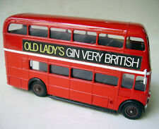 Bus Londonien - Double Decker - Old Lady's Gin - Solido