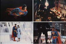 SUPERMAN 2 set of 4 Jumbo Stills Posters 20x30 CHRISTOPHER REEVE RARE NEAR MINT