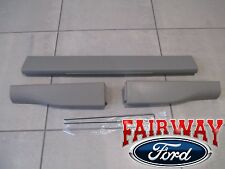 08 thru 10 Ford F250 F350 OEM Ford Top Flex Step Tailgate Molding 3pc King Ranch