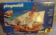 PLAYMOBIL 5678 RED SERPENT PIRATE SHIP NEW IN BOX FACTORY SEALED