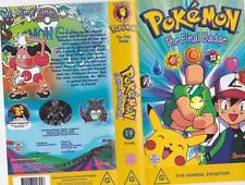 POKEMON THE FINAL BADGE  VOLUME 19  VHS PAL VIDEO~ A RARE FIND