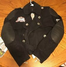 Women's Icon Rogue Jacket Black Large With Tags! Icon Moto!! CE Protection! $250