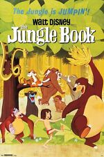 JUNGLE BOOK - CLASSIC MOVIE POSTER - 24x36 - DISNEY 14783