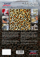 HARDER & STEENBECK AIRBRUSH STENCILS - LEOPARD STENCIL
