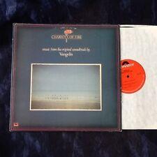 VANGELIS - CHARIOTS OF FIRE Original soundtrack vinyl lp. U.S. first issue. EX+