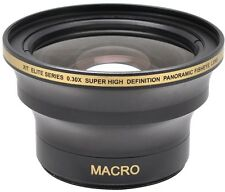 52MM .30x Wide Angle Macro Lens for Nikon AF-S DX NIKKOR 18-55mm  55-200mm Lens