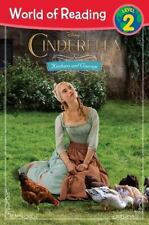 World of Reading: Cinderella Kindness and Courage, Level 2 by Disney Book...