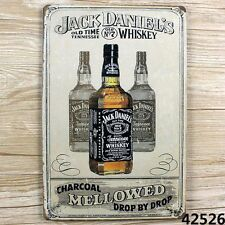 JACK DANIEL'S OLD vintage Tin Sign Bar pub home Wall Decor Retro Metal Poster