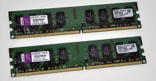 Kingston 4GB DDR2 Memory RAM 2x2gb 533Mhz PC2-4200 KVR533D2N4K2/4G Desktop