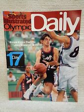 1996 Sports Illustrated Olympic Daily Program Day 17 Basketball  151135