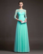 Women Formal Wedding Dress Long Evening Party Ball Prom Gown Cocktail Dress
