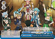 Weiss Schwarz  x 4 Quest to Get 《Excalibur》 [SAO/SE26-E36 CC] English