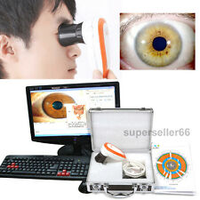 Super 5.0 MP USB Iriscope Iris Analyzer Iridology camera with pro Iris Software