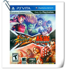 PSV PlayStation VITA Games STREET FIGHTER X TEKKEN Capcom Fighting