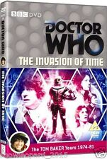 DOCTOR DR WHO INVASION OF TIME DVD TOM BAKER Brand New Sealed Original UK Rel R2
