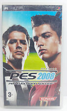 SONY PSP PRO EVOLUTION SOCCER PES 2008 EUROPEAN - USED - FREE SHIPPING