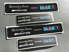 4 autocollant/sticker Mercedes-Benz AMG mobile 1 w124 w202 w208 w203 w210 r129