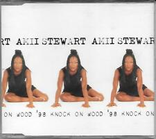 "AMII STEWART - RARO CDs ITALO DANCE MADE IN ITALY "" KNOCK ON WOOD '98 """