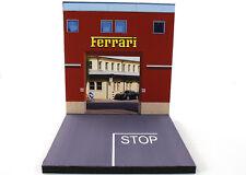 Diorama présentoir Ferrari Factory Usine - 1/64ème - #MR3inQ001