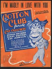 I'm Madly In Love With You 1938 Cab Calloway Cotton Club Parade
