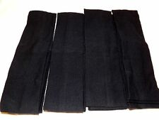 12 pcs Headbands Stretch Colors Black.