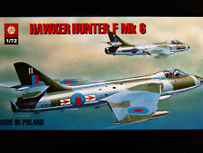 HAWKER HUNTER F MK. 6, BRITISH FIGHTER AIRCRAFT, ZTS PLASTYK, SCALE 1/72