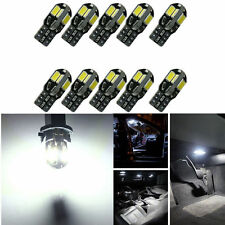 10 PCS Canbus T10 194 168 W5W 5730 8 LED SMD White Car Side Wedge Light Lamp KY