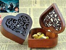 Heart Wood Wind Up Music Box : Prologue Harry Potter HedwigsTheme