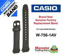 REPLACEMENT CASIO WATCH BAND ORIGINAL WOULD FIT: W-756-1AV Casio Band