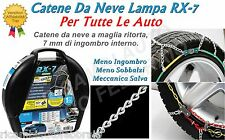 Catene da neve Rombo 7mm Lampa RX-7 SMART ROADSTER Gomme 195/50R15 16383