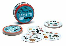 Spot it! Hip Card Game - 55 Cards & Illustrated Rules - Top Rated Premium Game