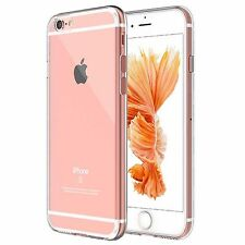 Ultra Slim Transparent Soft Silicone Gel Back Case Cover For iPhone 7