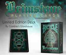 Bicycle Brimstone Aqua Playing Cards Limited Edition New Deck