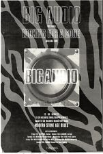 ARTICLE - ADVERT 5/11/94PGN48 BIG AUDIO : LOOKING FOR A SONG SINGLE 10X7""