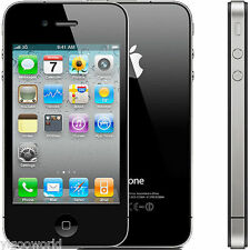 Original Apple iPhone 4S 16GB Factory Unlocked Black Smartphone Black
